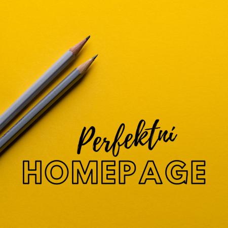 Perfektní homepage