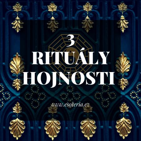3 rituály hojnosti